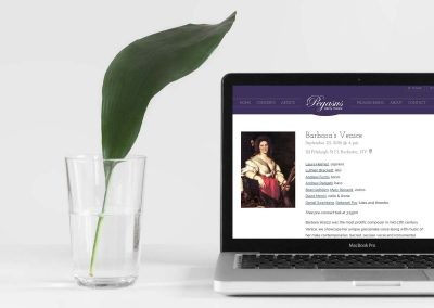 Pegasus Early Music website