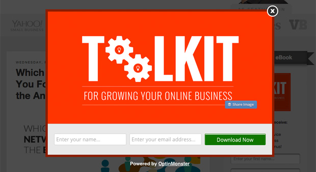 Offering something in exchange can grow your email subscriber list exponentially.
