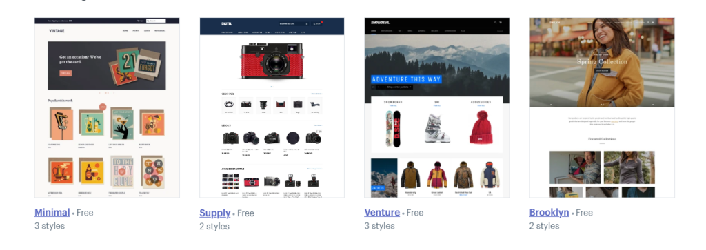 Shopify offers flexibility for e-commerce and subscription users